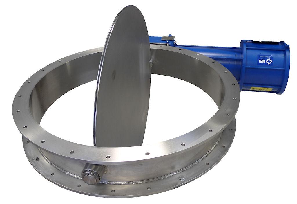 1000mm damper valve